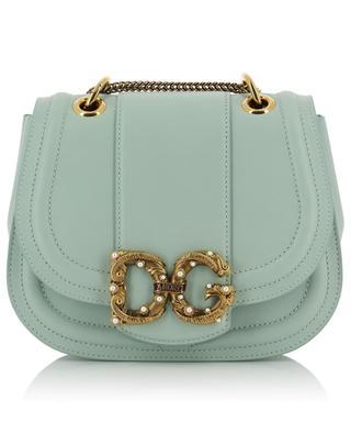 DG Amore Small calfskin shoulder bag DOLCE & GABBANA