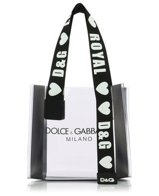 Sac cabas en PVC transparent Street Shopping DOLCE & GABBANA