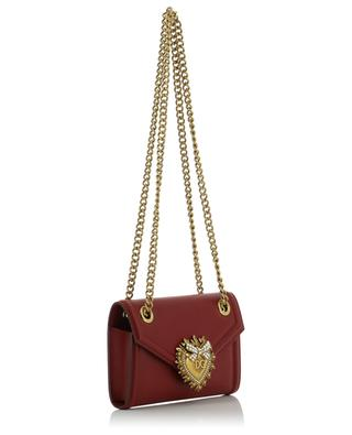 Devotion small smooth leather shoulder bag DOLCE & GABBANA