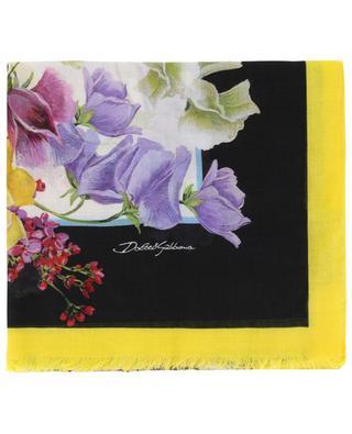 Leichter geblümter Schal Flower Mix DOLCE & GABBANA