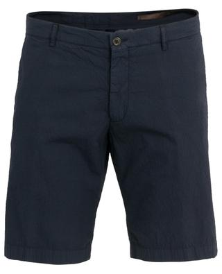 Crinkled-effect Bermuda short BERWICH