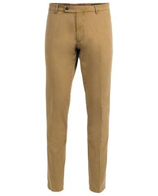 Pantalon en coton et lin mélangés BERWICH