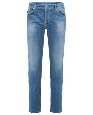 Ausgewaschene Slim-Fit Jeans Leonardo D375-2Years TRAMAROSSA