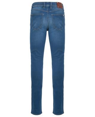 Ausgewaschene Slim-Fit Jeans Leonardo 24.7 TRAMAROSSA