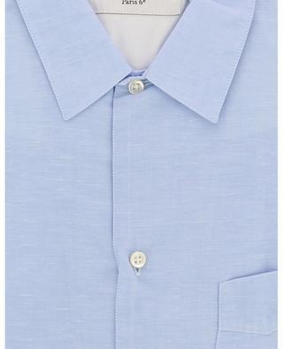 Hemd aus Baumwolle und Leinen JS OFFICINE GENERALE