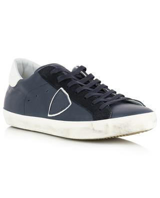 Niedrige Sneakers aus Leder Paris PHILIPPE MODEL