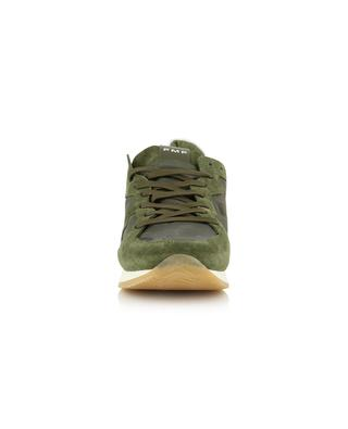 Monaco low-top camouflage design sneakers PHILIPPE MODEL