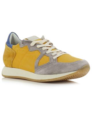 Monaco Vintage 70 Years nylon and suede sneakers PHILIPPE MODEL