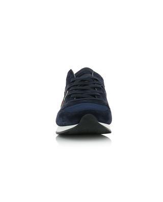 Tropez Mondial neon detail multi material sneakers PHILIPPE MODEL