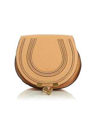 Mini-Schultertasche aus genarbtem Leder Marcie CHLOE