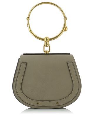 Petit sac bracelet en cuir rigide Nile CHLOE