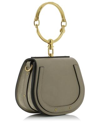 Nile small stiff leather bracelet bag CHLOE
