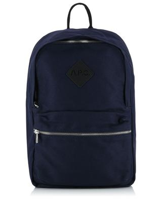Sadie waxed canvas backpack A.P.C.