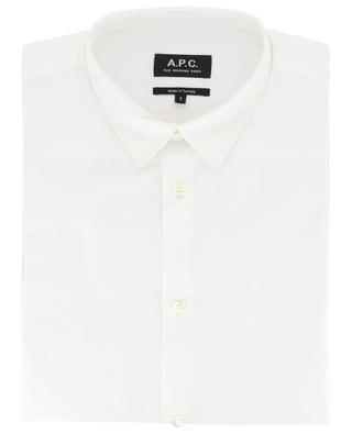 Staid sober poplin shirt A.P.C.