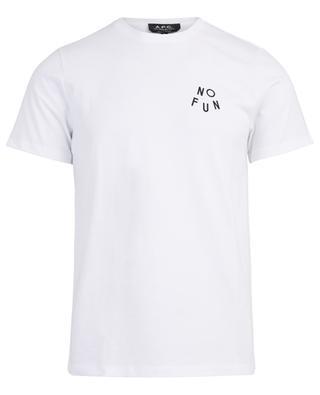 T-shirt en coton No Fun A.P.C.