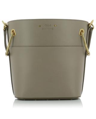 Kleine Bucket-Tasche aus steifem Leder Roy CHLOE