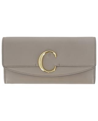 Chloé C long leather wallet CHLOE