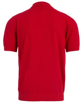 Kurzärmliges Polohemd aus Baumwollmix MCLAUREN