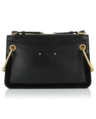 Roy Mini leather and suede bag CHLOE