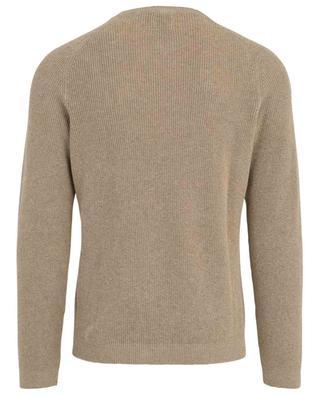 Gavan linen and cotton round neck jumper MCLAUREN