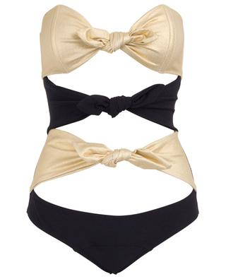 Triple Poppy three bows swimsuit LISA MARIE FERNANDEZ
