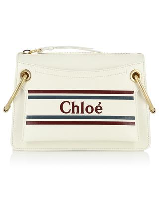 Roy logo print shoulder bag CHLOE