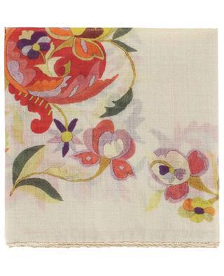 Halstuch aus Wolle und Seide Calcutta ETRO