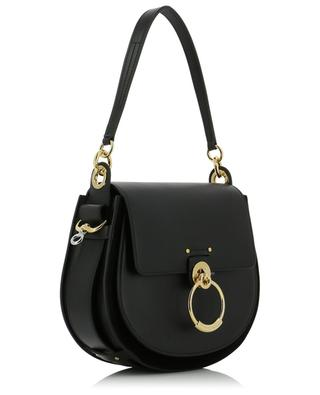 Tess large smooth leather saddle bag CHLOE