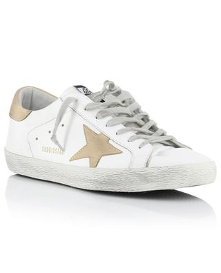 Superstar used-look leather sneakers GOLDEN GOOSE