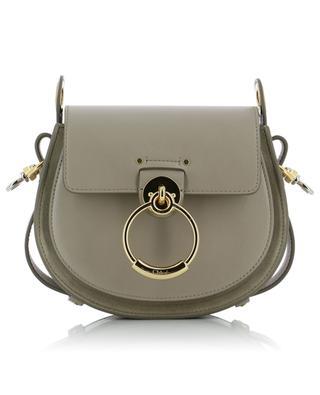 Petit sac porté épaule en cuir et daim Tess CHLOE