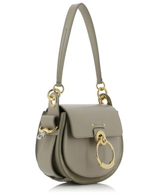 Tess small suede and leather shoulder bag CHLOE