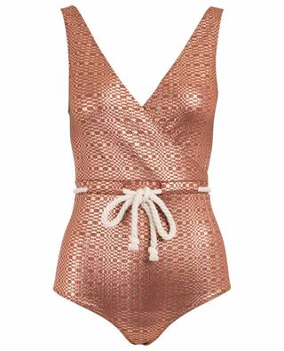 43da71a67c5b2 Yasmin one-piece swimsuit with drawstring LISA MARIE FERNANDEZ ...