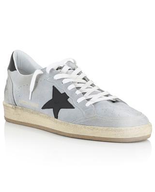 Sneakers aus Wildleder mit schwarzem Stern Ball Star GOLDEN GOOSE