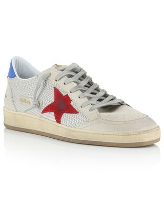 Ball Star mesh and leather sneakers GOLDEN GOOSE