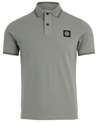 Piqué cotton polo shirt STONE ISLAND