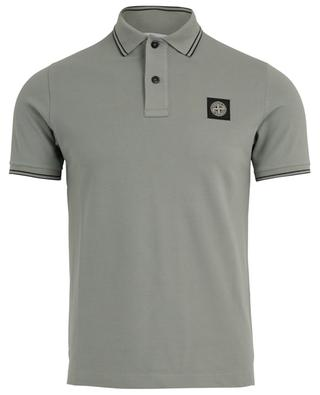 Piqué cotton polo shirt STONE ISLAND