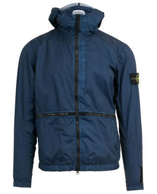 40123 Membrana 3L TC hooded windbreaker jacket STONE ISLAND