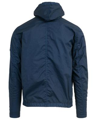 40123 Membrana 3L TC hooded windbreaker jacket STONE ISLAND