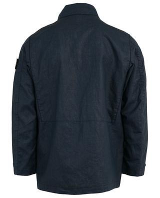 Jacke aus beschichtetem Leinen Lino Resinato-TC STONE ISLAND