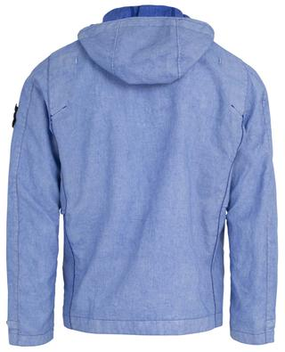 Lino Resinato-TC 44133 coated linen jacket STONE ISLAND