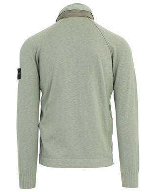 Sweat-shirt en coton mélangé STONE ISLAND