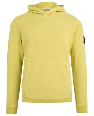 Sweat-shirt à capuche en coton STONE ISLAND