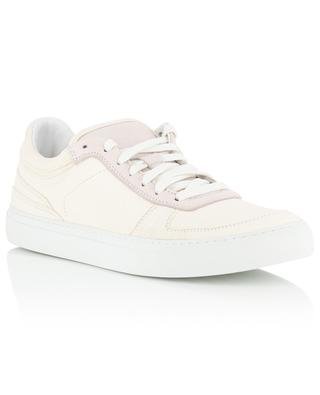 Grained leather sneakers STONE ISLAND