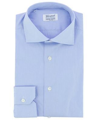 Slim-Fit-Popeline-Hemd mit Vichykaros GIAMPAOLO