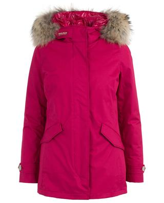 Hooded parka with fur WOOLRICH