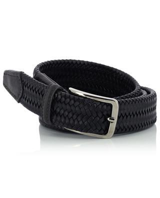 Braided leather belt NEW BELT