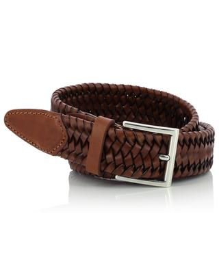 Belt in braided leather NEW BELT