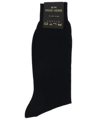 Chaussettes fines courtes unies ALTO