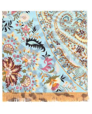 Reversible printed silk shawl ETRO