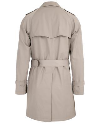 Cotton blend trench coat MAURIZIO BALDASSARI